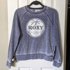 Roxy distressed/faded sweatshirt EUC